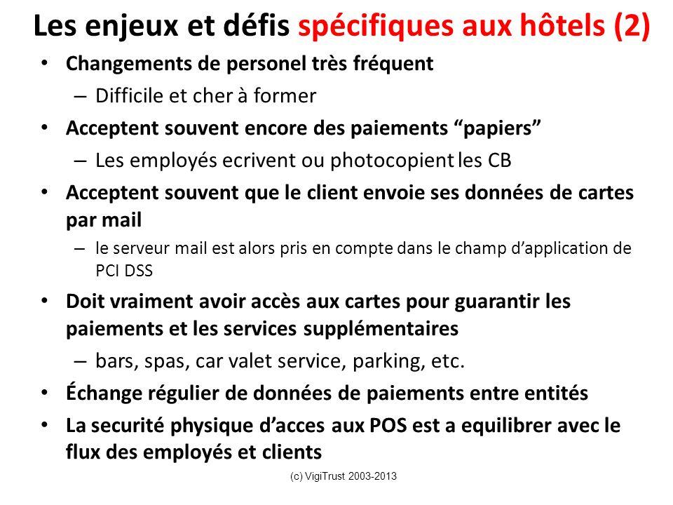 Les enjeux et défis spécifiques aux hôtels (2)