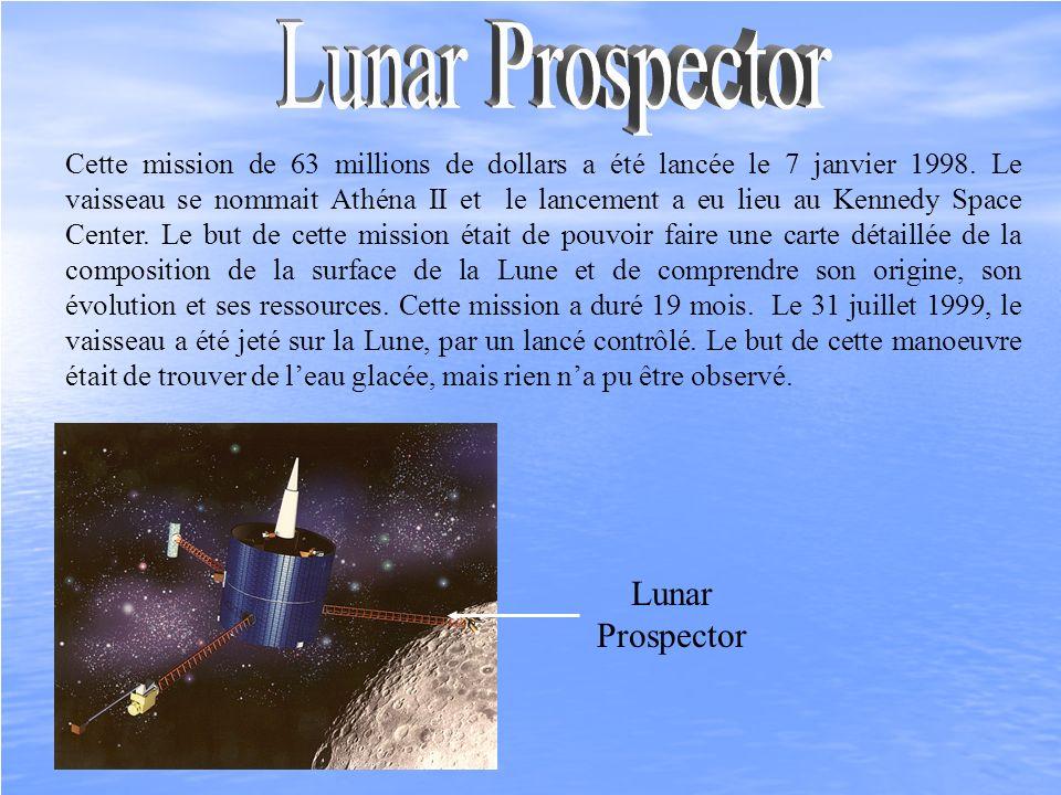 Lunar Prospector Lunar Prospector