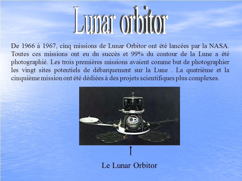 Lunar orbitor Le Lunar Orbitor