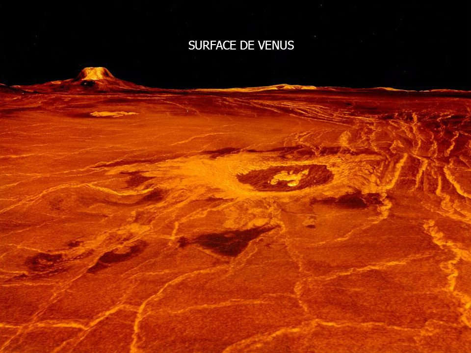 SURFACE DE VENUS