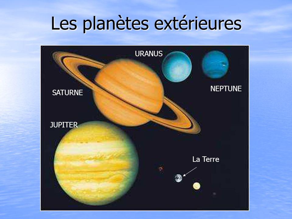 Les planètes extérieures