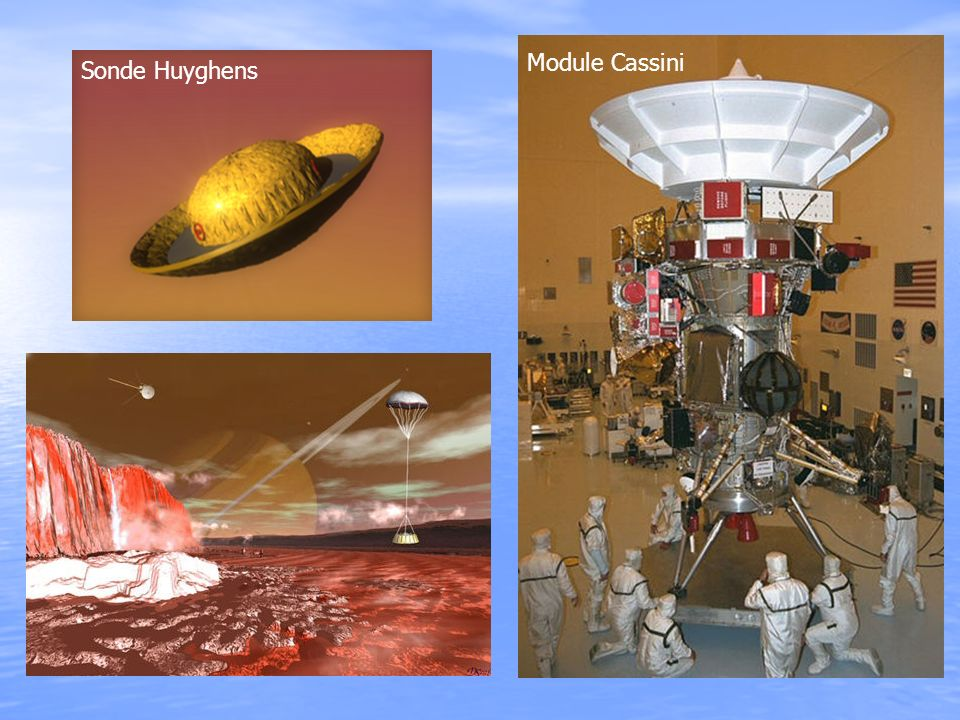 Module Cassini Sonde Huyghens