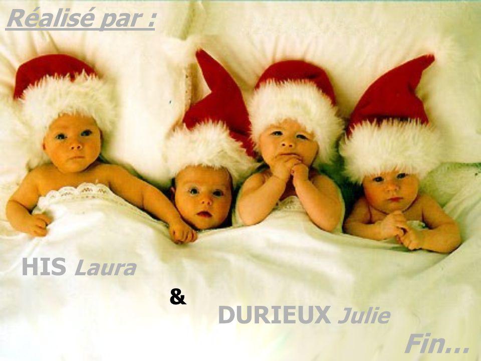 Réalisé par : HIS Laura & DURIEUX Julie Fin…