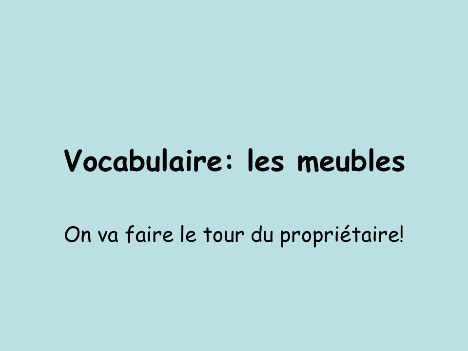 Vocabulaire Les Meubles Ppt Video Online Telecharger