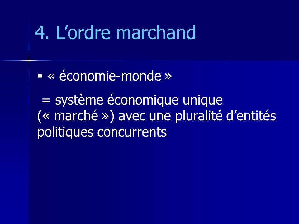 4. L'ordre marchand « économie-monde »