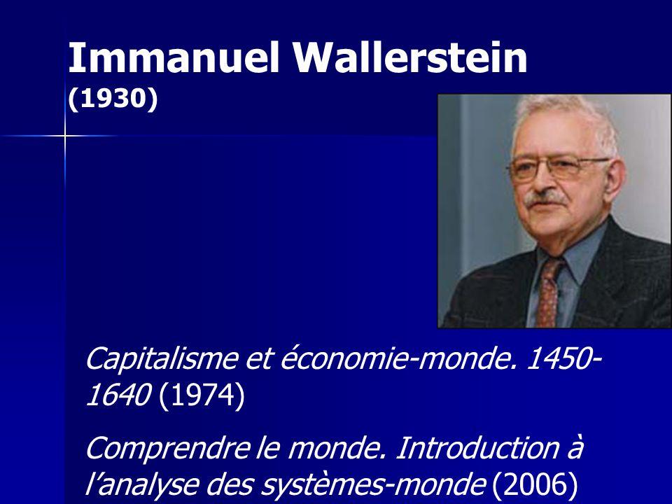 Immanuel Wallerstein (1930)