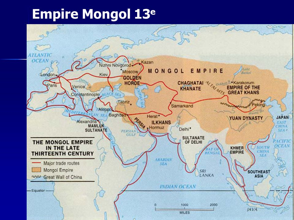 Empire Mongol 13e