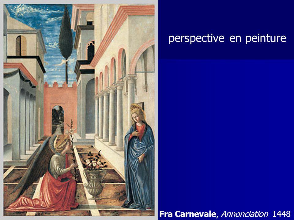 perspective en peinture