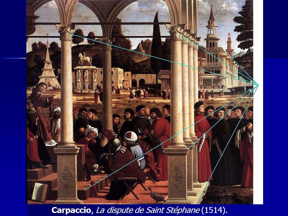 Carpaccio, La dispute de Saint Stéphane (1514).