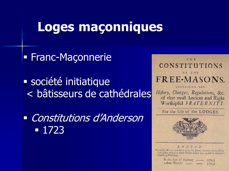 Loges maçonniques Franc-Maçonnerie société initiatique