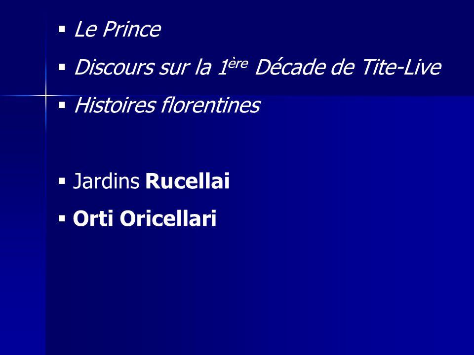 Le Prince Discours sur la 1ère Décade de Tite-Live.
