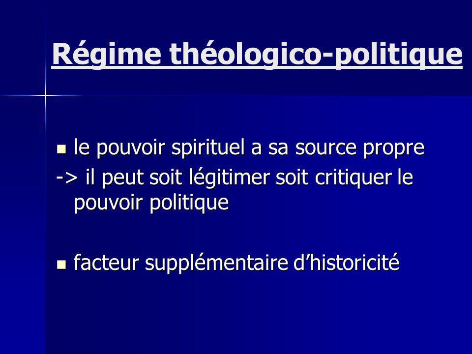 Régime théologico-politique