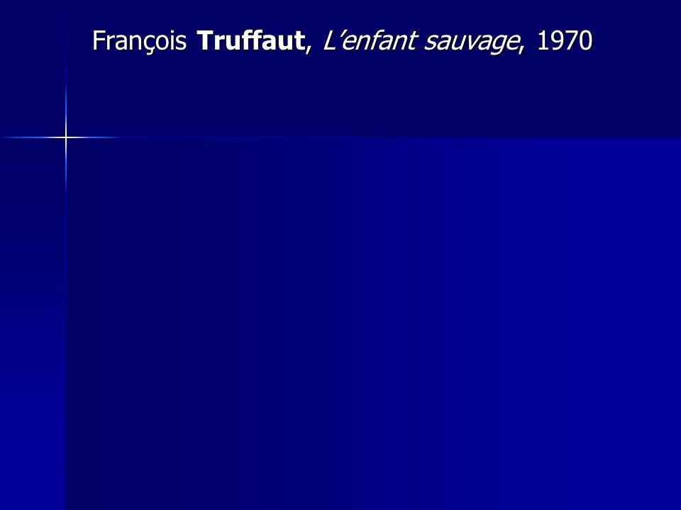 François Truffaut, L'enfant sauvage, 1970