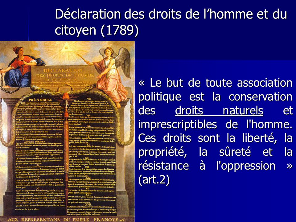 Déclaration des droits de l'homme et du citoyen (1789)