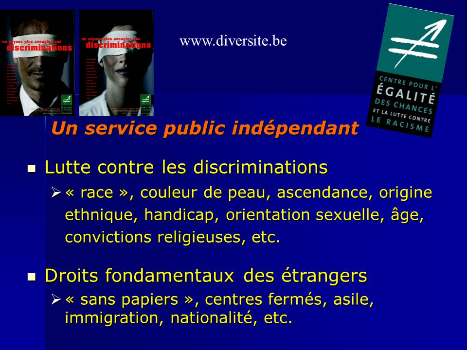 Un service public indépendant