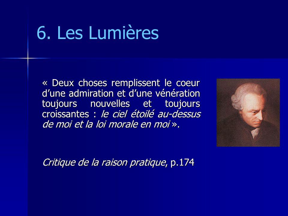 6. Les Lumières