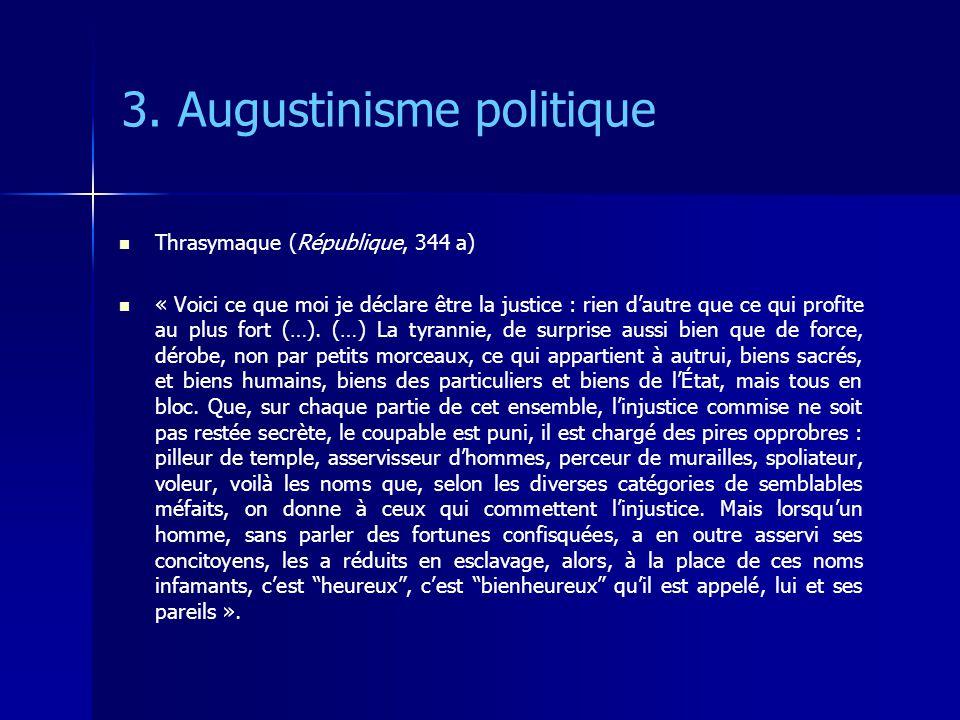 3. Augustinisme politique