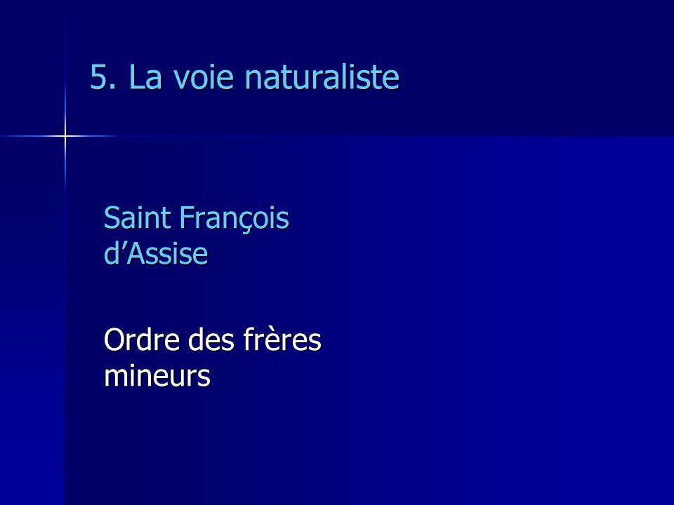 5. La voie naturaliste Saint François d'Assise