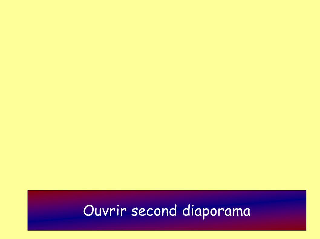Ouvrir second diaporama