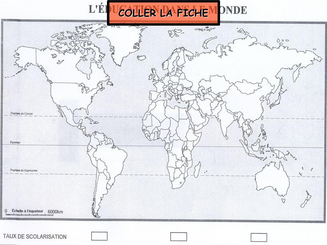 COLLER LA FICHE