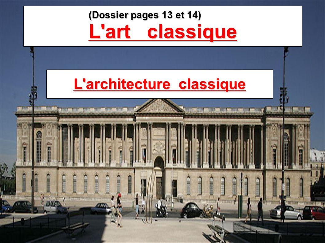 L architecture classique