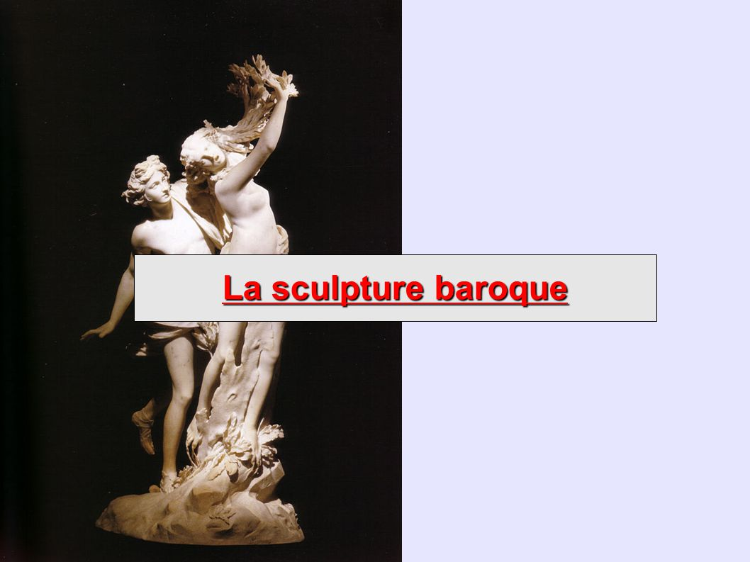La sculpture baroque