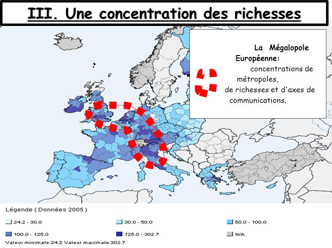 III. Une concentration des richesses