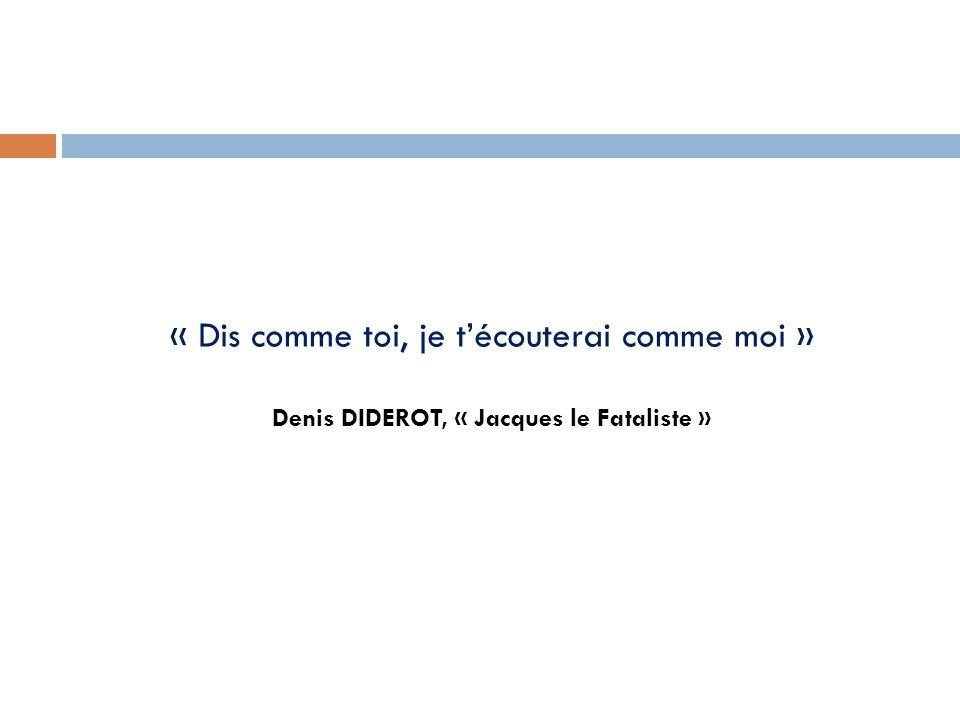Denis DIDEROT, « Jacques le Fataliste »