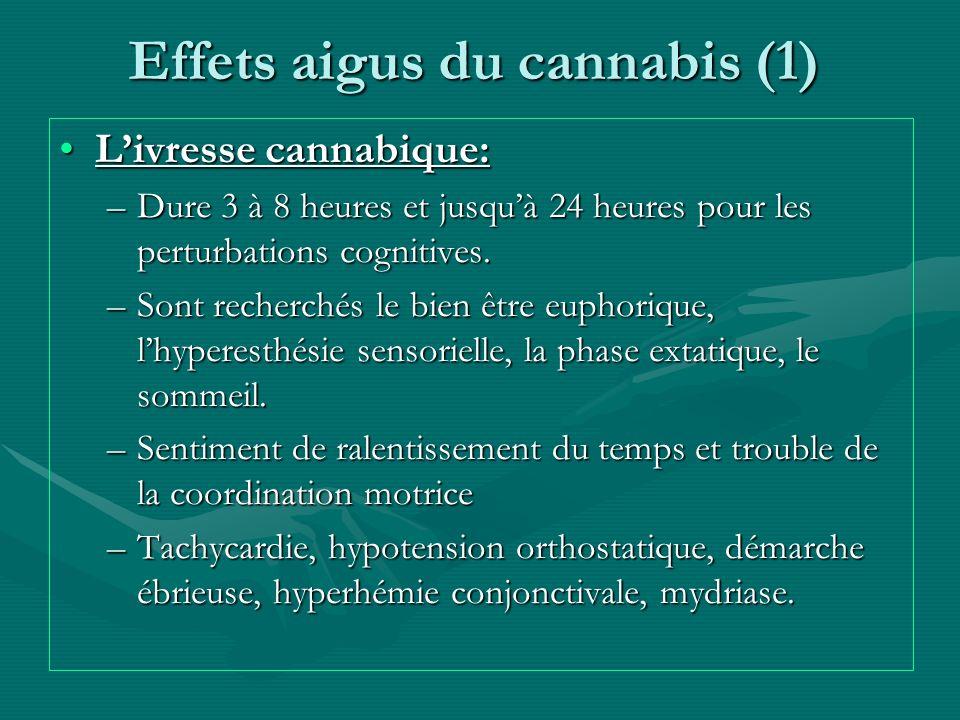 Effets aigus du cannabis (1)