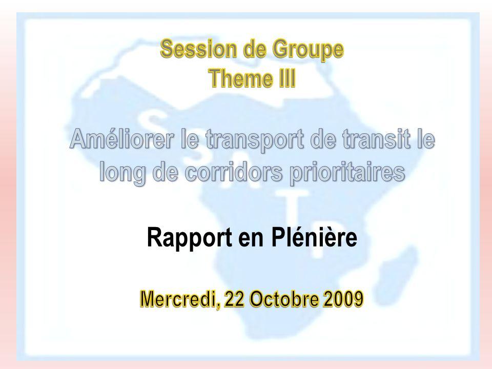 Améliorer le transport de transit le long de corridors prioritaires