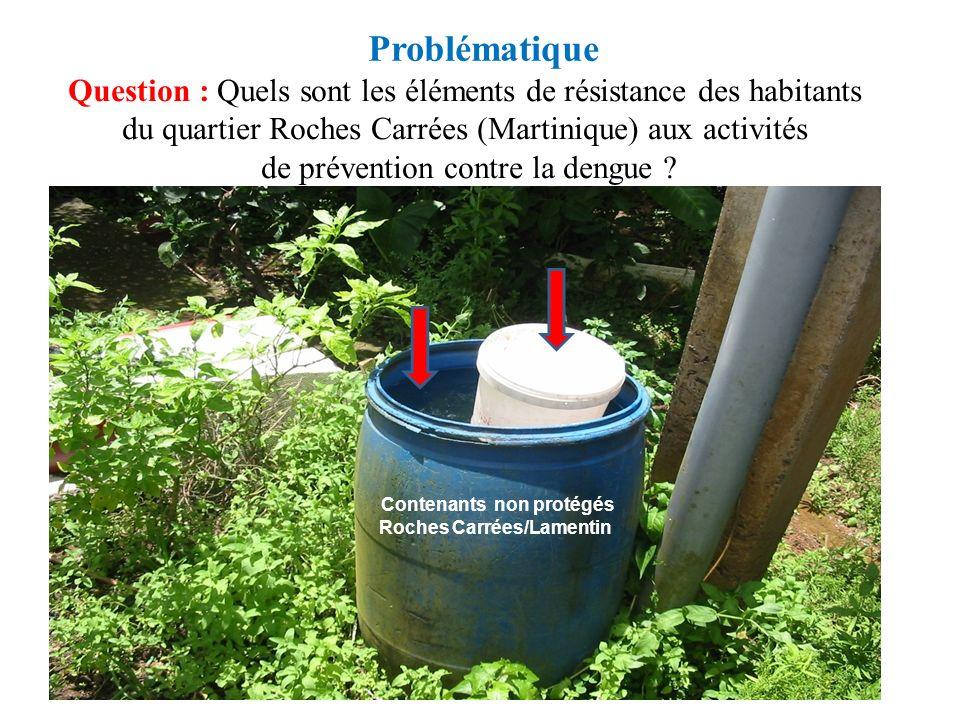Contenants non protégés Roches Carrées/Lamentin