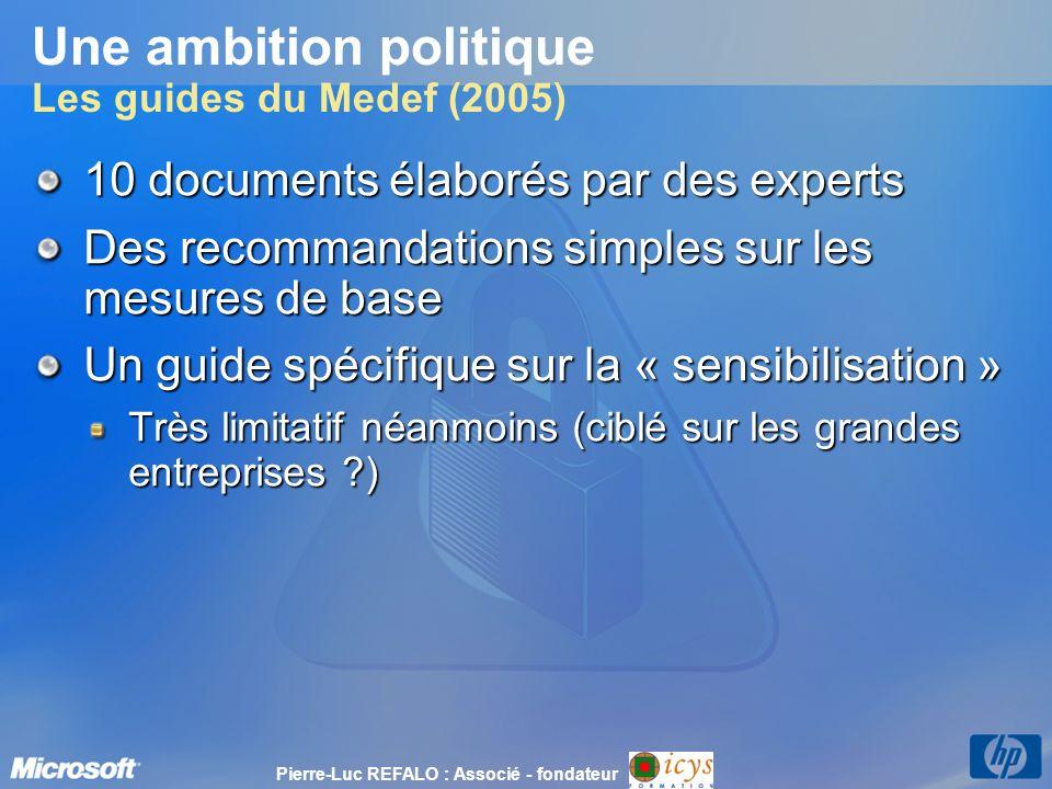 Une ambition politique Les guides du Medef (2005)