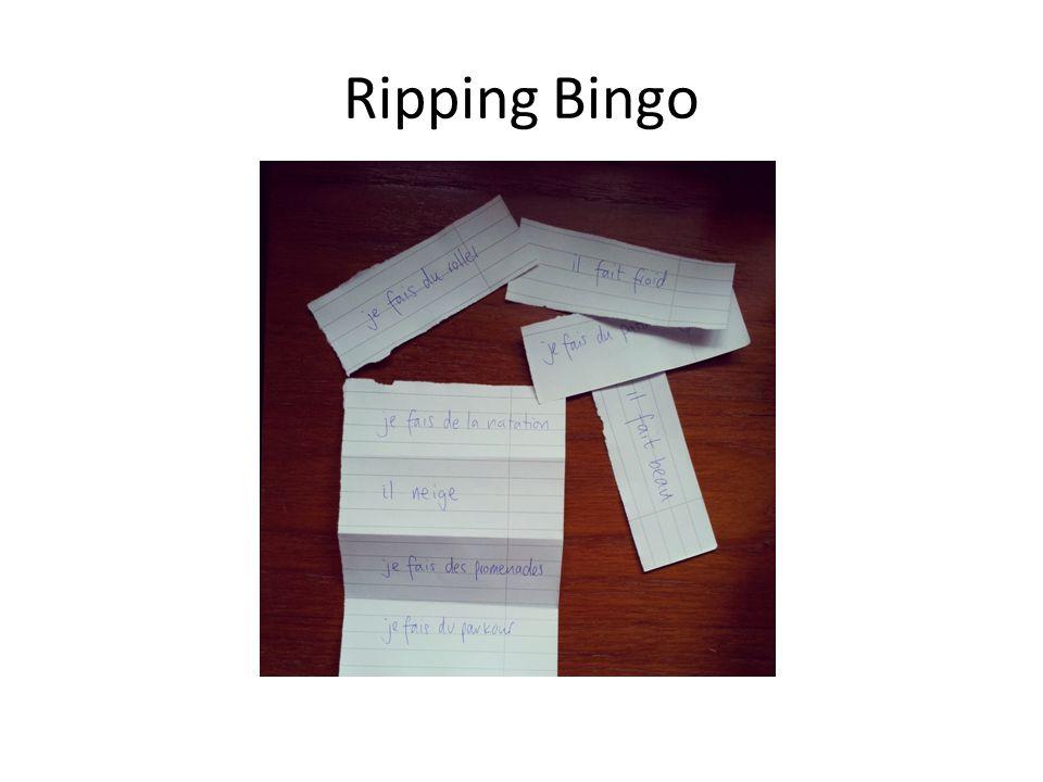Ripping Bingo