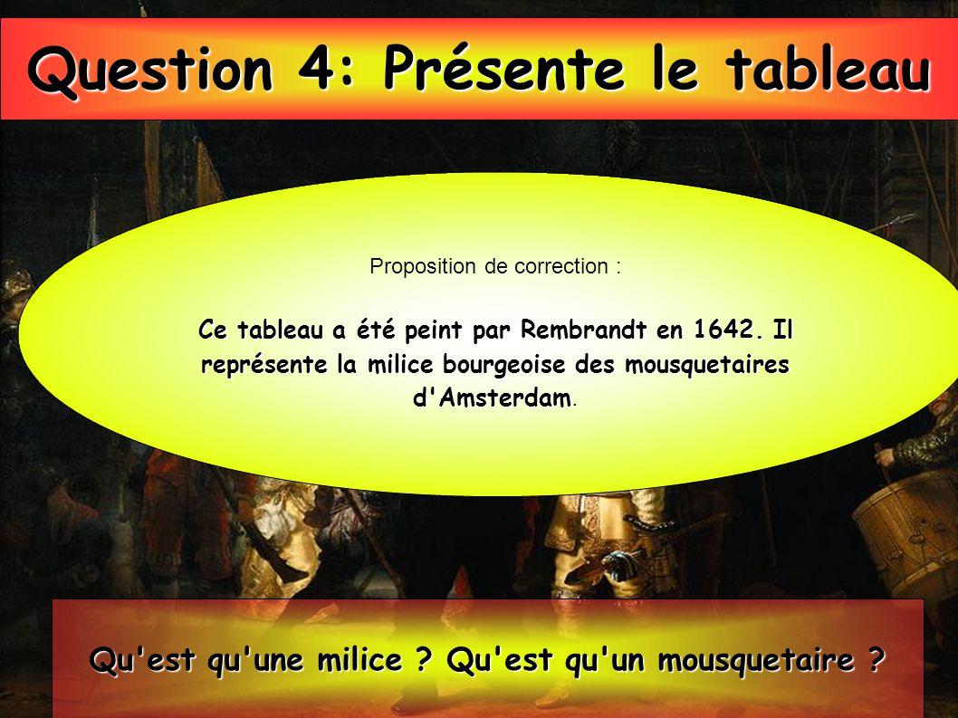 Question 4: Présente le tableau