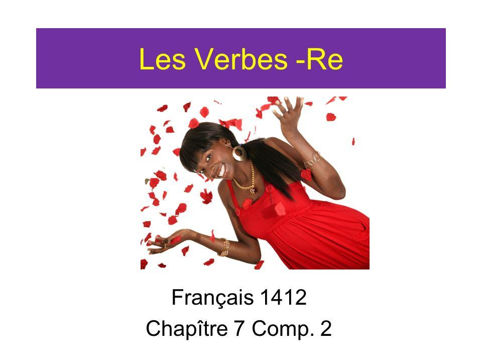 Français 1412 Chapître 7 Comp. 2