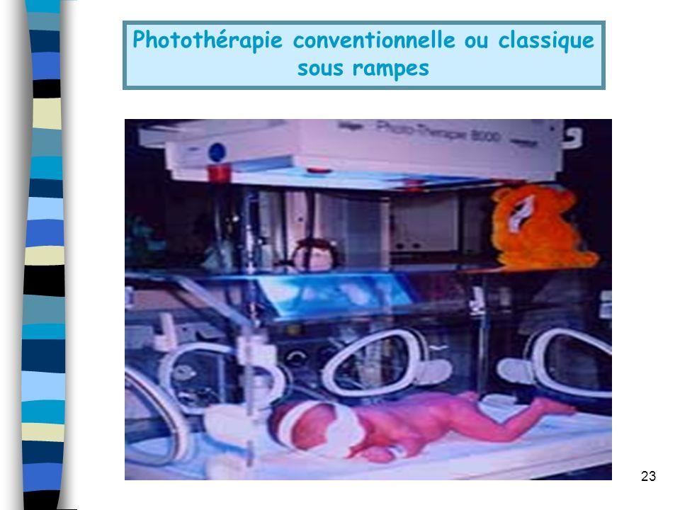 Photothérapie conventionnelle ou classique
