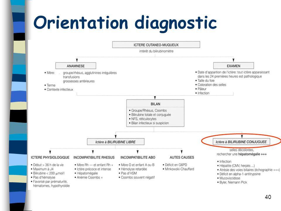 Orientation diagnostic