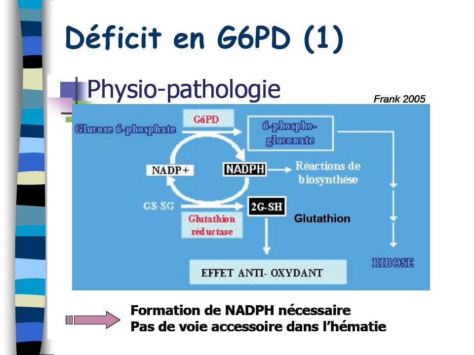 Déficit en G6PD (1)