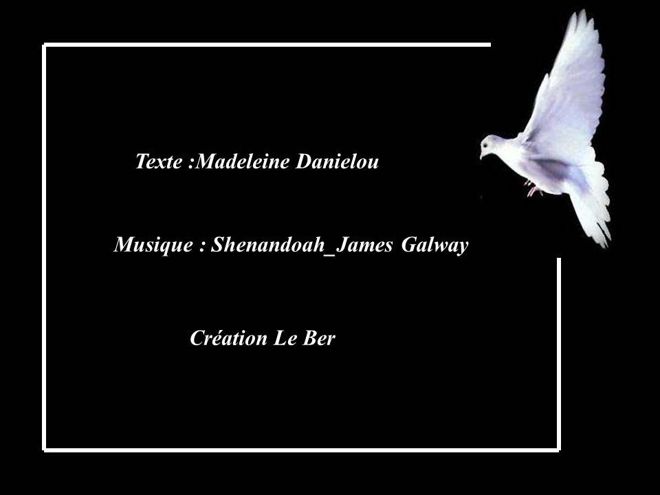 Texte :Madeleine Danielou Musique : Shenandoah_James Galway