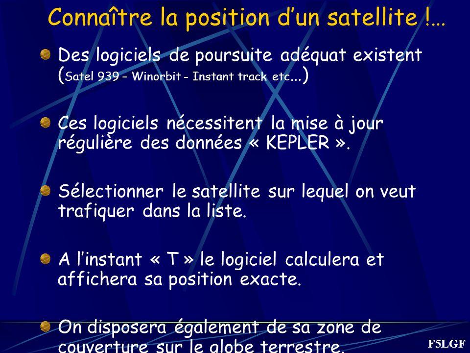 Connaître la position d'un satellite !…