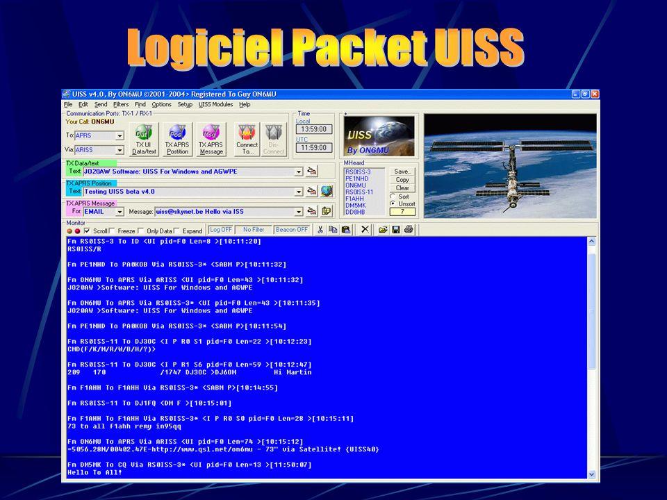 Logiciel Packet UISS