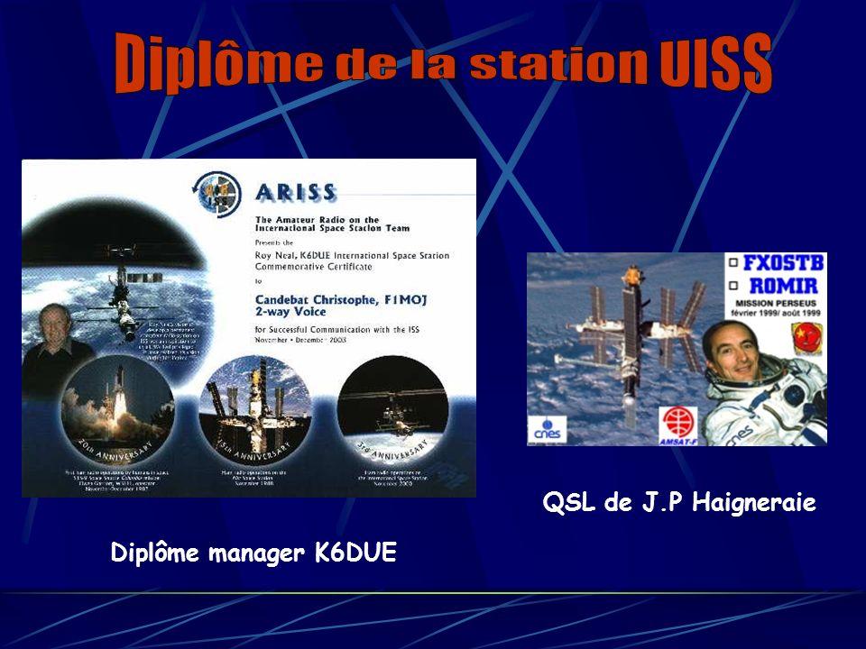 Diplôme de la station UISS