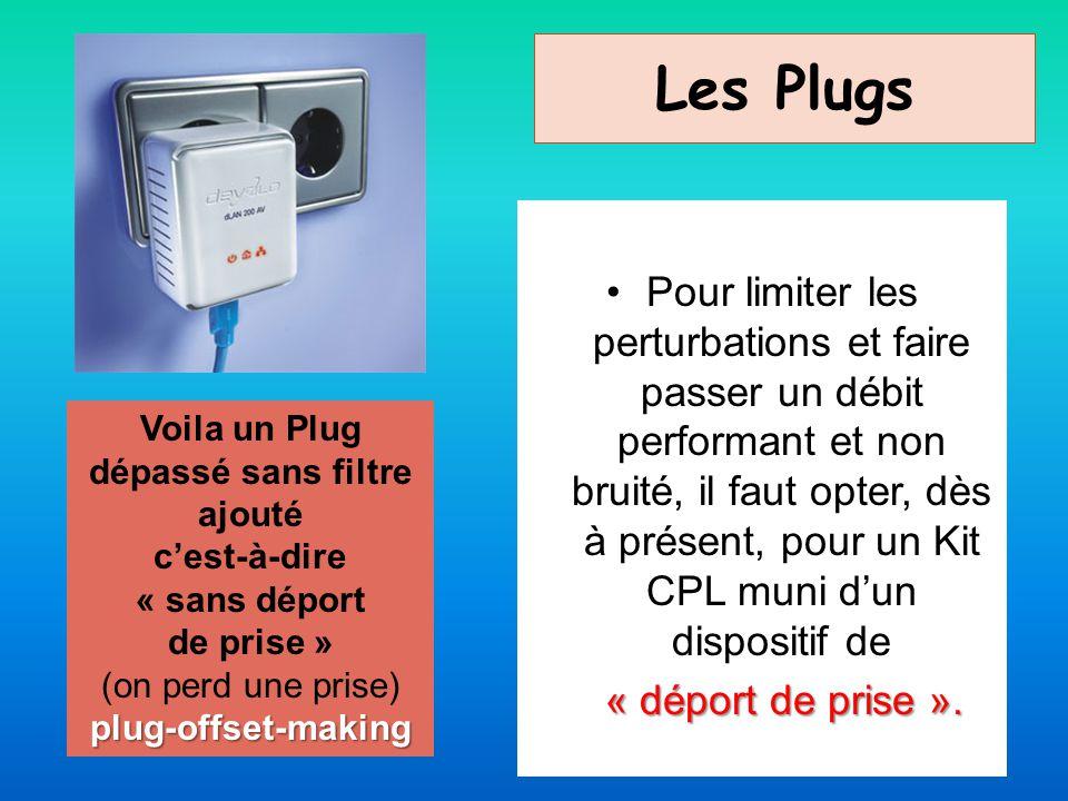 Voila un Plug dépassé sans filtre ajouté