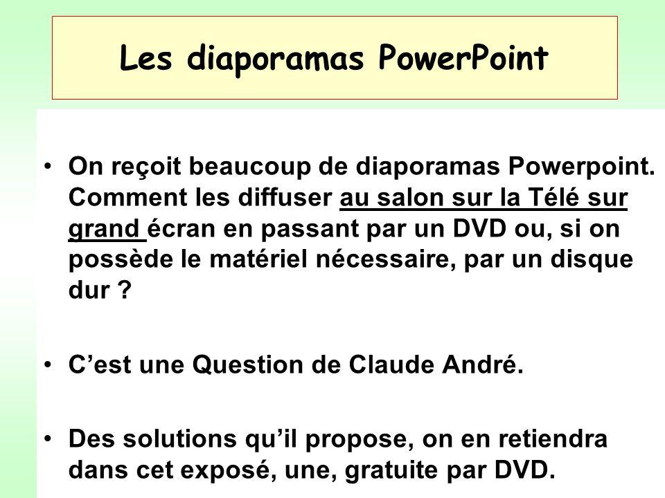 Les diaporamas PowerPoint