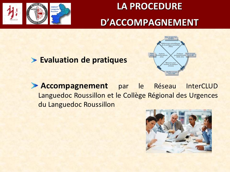 LA PROCEDURE D'ACCOMPAGNEMENT