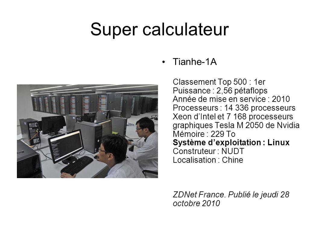 Super calculateur