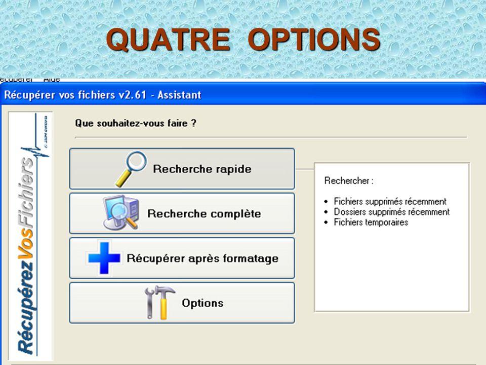 QUATRE OPTIONS