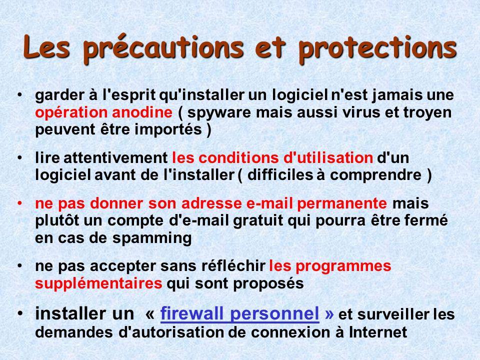 Les précautions et protections