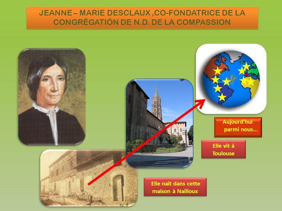 Elle naît dans cette maison à Nailloux