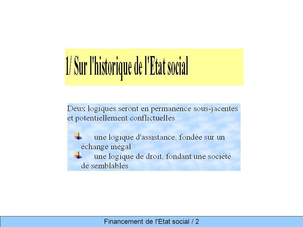 Financement de l Etat social / 2